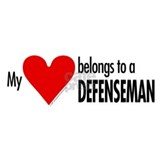 My heart, defenseman Mug