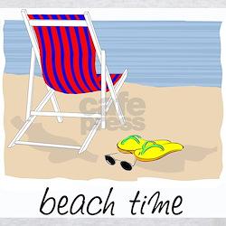 Beach Time Ash Grey T-Shirt