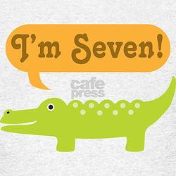Alligator 7th Birthday T-Shirt