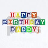 Happy birthday daddy Baby Bodysuits