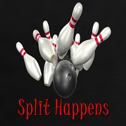 Split Happens Bowling Tee