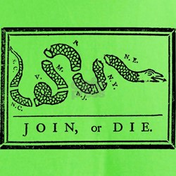 """Join, Or Die!"" T-Shirt"