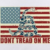 Dont tread on me Baby Bodysuits