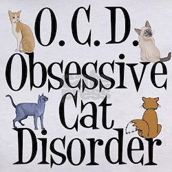 Obsessive Cat Disorder Tee
