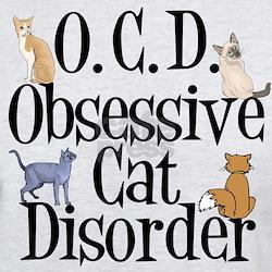 Obsessive Cat Disorder T-Shirt