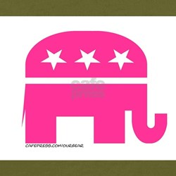 GOP Pink Elephant T-Shirt