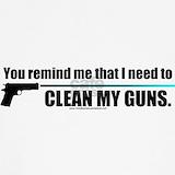 Stickers guns Tank Tops