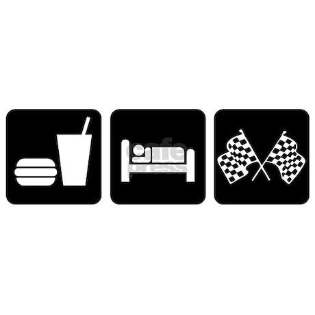 eat sleep race logo - photo #18