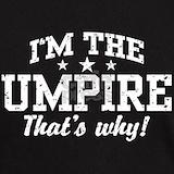 Baseball umpire shirts T-shirts