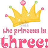 Princess Crown 3rd Birthday Mug