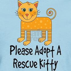 Adopt A Rescue Kitty T-Shirt