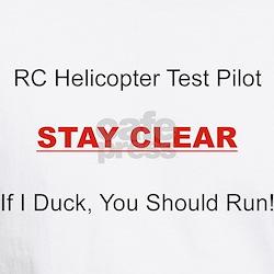 RC Heli Test Pilot Shirt