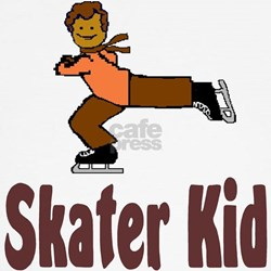 Skater Kid Daniel Kids T-Shirt