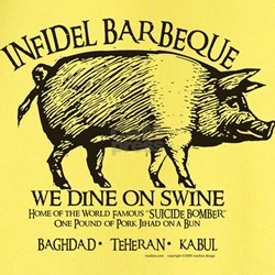 Infidel Barbeque T