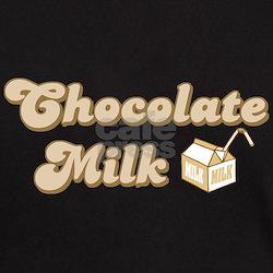 Chocolate Milk Black T-Shirt