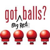Got (Big Red) Balls? Mug