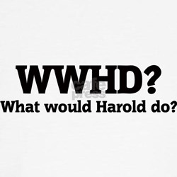 What would Harold do? Tee