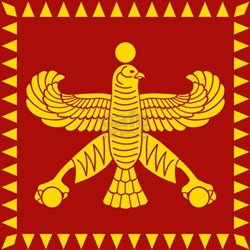 Cyrus the Great Persian Standard Flag T-Shirt