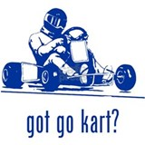 Go Kart 2 Water Bottle