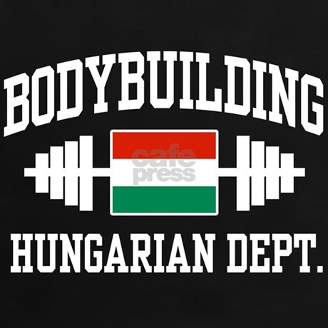Hungarian Bodybuilding Tee By Spiffetees