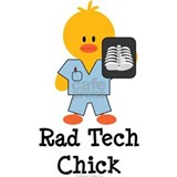 Rad Tech Chick Water Bottle