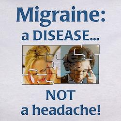 """Migraine: a DISEASE..."" Tee"