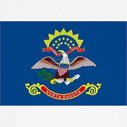 North Dakota State Flag T