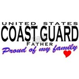 Proud Coast Guard Dad Mug