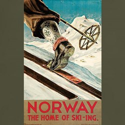 Norway The Home Of Skiing T-Shirt