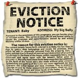 Pregnant eviction Maternity