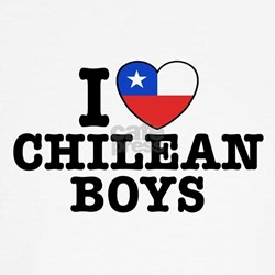 I Love Chilean Boys Tee