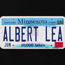 Albert Lea License Plate T