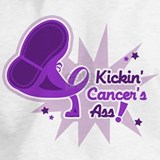 Kicking cancers ass Sweatshirts & Hoodies