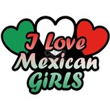 I Love Mexican Girls Mug