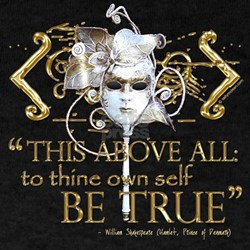 "Hamlet ""Be True"" Quote T-Shirt"