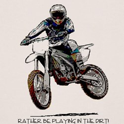 Rather be playing in the dirt Tee