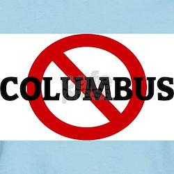 Anti-Columbus Women's Pink T-Shirt