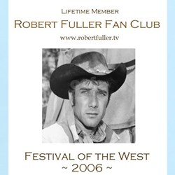 Robert Fuller Fan Club Women's Pink T-Shirt