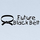 Future black belt Baby Hats