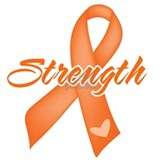 Stength Ribbon Leukemia Water Bottle