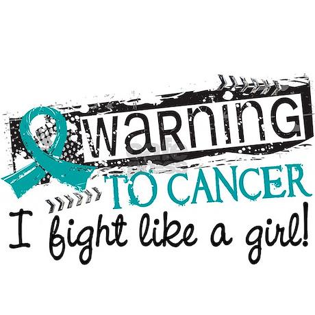fight like a girl ovarian cancer tile coaster jpg height 460 amp width 460    Ovarian Cancer Ribbon Fight Like A Girl