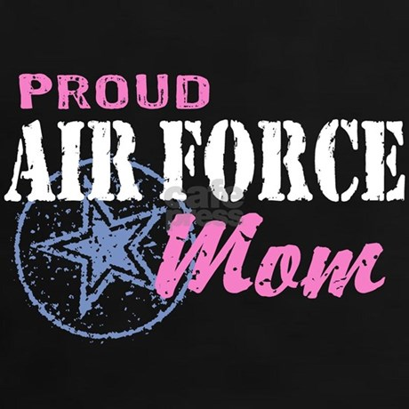 Proud Air Force Mom Tee By Wethetees