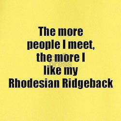 Rhodesian Ridgeback T
