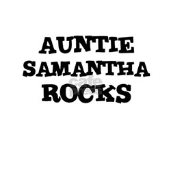 AUNTIE SAMANTHA ROCKS Creeper Infant T-Shirt