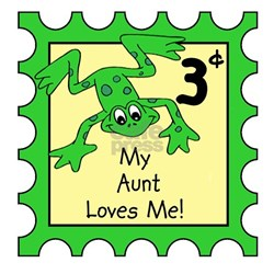 My Aunt Loves Me FROG Baby/Onesie Infant T-Shirt