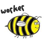 'Worker Bee' Water Bottle