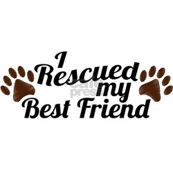 Rescued Dog Best Friend Tee