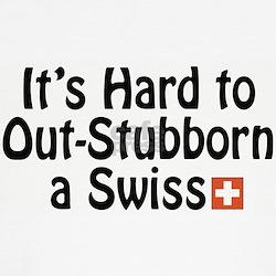 Stubborn Swiss Kids T-Shirt