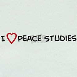 I Love Peace Studies T
