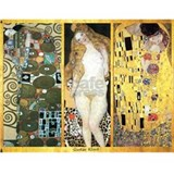 Gustav Klimt 'Couples Collag Water Bottle